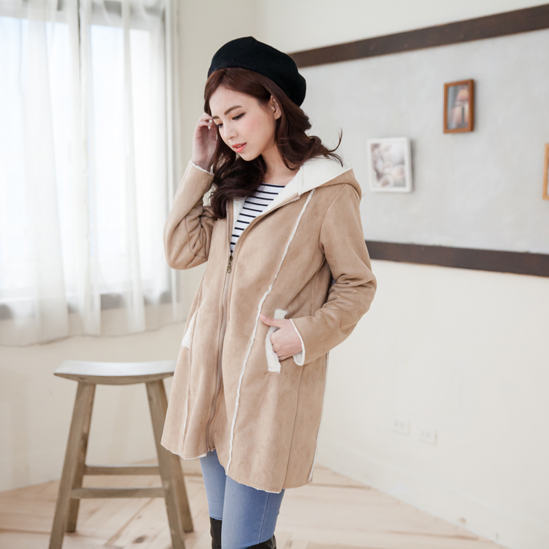 b0b7e88f5 Fashion Cute Maternity Coat thicken Warming cotton Maternity clothes ...