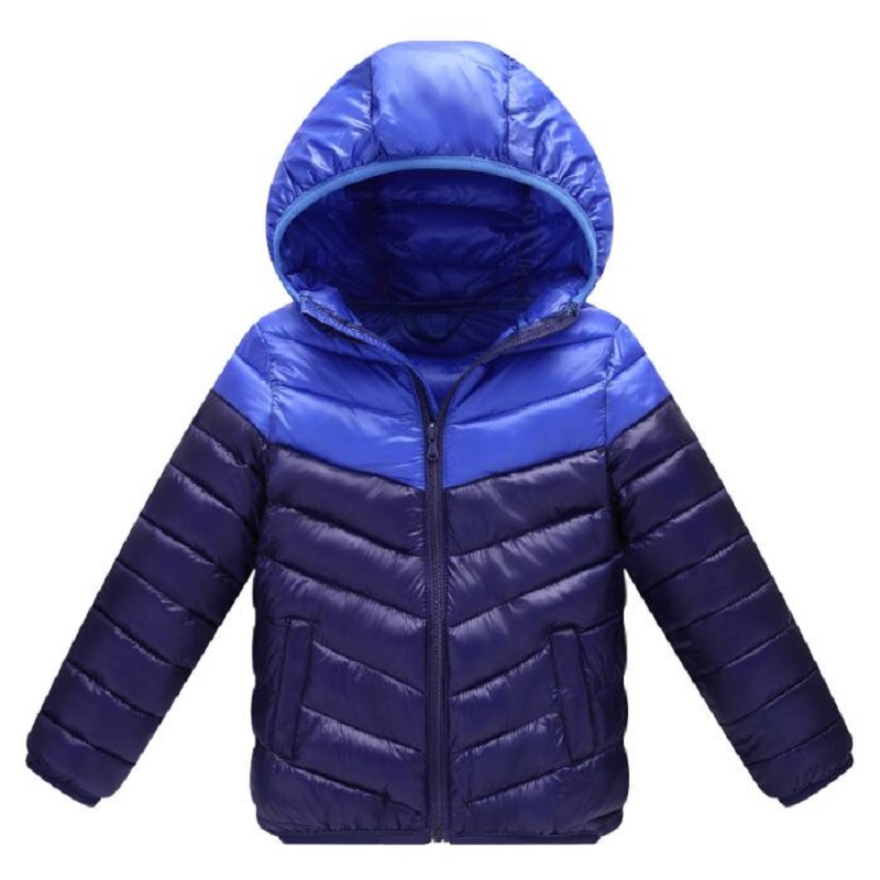 Boys winter coats & Jacket kids Zipper Sport jackets Fashion Patchwork thick Winter jacket Boy Girls Winter Coat kids clothes glo story teenage boys winter jackets children boy 2018 casual streetwear patchwork with tape zipper hoodie parkas coats
