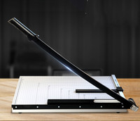DELI paper cutter A3 manual steel paper blade office paper cutting machine thickening photo paper cutter office cuttinf supplies
