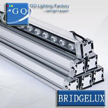 4 pcs/lotFedexDHL 36 w led rondelle lightDMX512 blanc chaud LED Lumière de Rondelle de Mur led rondelle de mur lampe extérieure carré d'inondation paysage