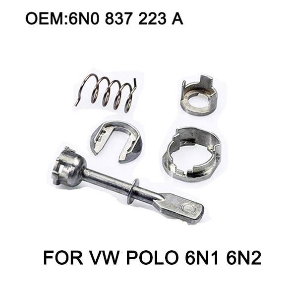 5 Stück Auto Eisen Tür Schließzylinder Repair Kit Für VW POLO 6N1 6N2 1997-2002 Vorne Links oder Rechts OE #6N0 837 223A