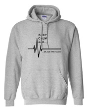Keep Calm Long Sleeve Fleece for Men