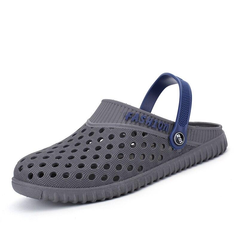 edce2766843e0 Aleader EVA Croc Clogs Men Slip On Garden Shoes Lightweight Beach Sandals