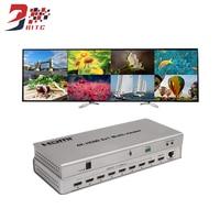 SZBITC 4 K HDMI Quad Multi viewer 8x1 HDMI коммутатор дисплей 8 HD цифровой видео сигнал на том же экране
