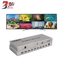 SZBITC 4 K HDMI Quad Multi-viewer 8×1 HDMI коммутатор дисплей 8 HD цифровой видео сигнал на том же экране