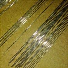 10 pcs פלדת חוט חילוף חלק עבור כסף ריד אח סריגה מכונת אביזרי יצוק על מסרק סט 90 cm