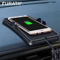 TURATA QI Wireless Charger Car Charger phone holder USB Wireless Charging Pad For iPhone 8 7 X for Samsung s6/s7/s8/ note5/6/7/8