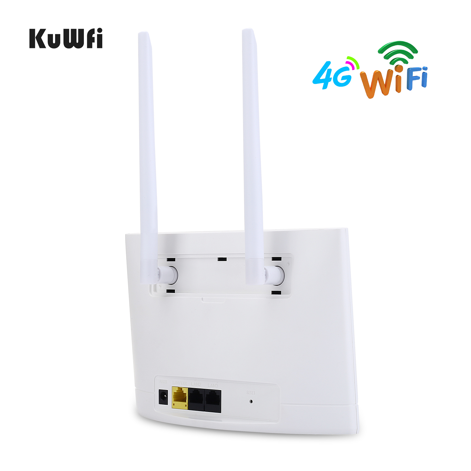 Image 3 - KuWfi 4G LTE Router 150Mbps Wireless CPE Router 3G/4G SIM Card Wifi Router Support 4G to Wired Network up to 32 Wifi Device-in 3G/4G Routers from Computer & Office