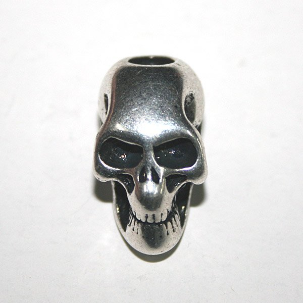 NEW workmanship skull KNIFE LANYARDS PENDANTS handmade 1-hole-L free ship