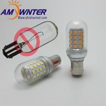AMYWNTER 5W T25 BA15D BOAT Light LED bulb SMD 7W 12V 24V 60V Ship navigation Signal light
