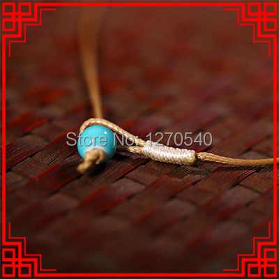 Винтажные подвески, ожерелье fashuon простое керамическое каменное ожерелье, керамические украшения этническое ожерелье гриб