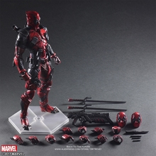 דיסני מארוול נוקמי Deadpool 2 28cm פעולה יציבה איור דגם אנימה קישוט אוסף צלמית צעצועי דגם לילדים