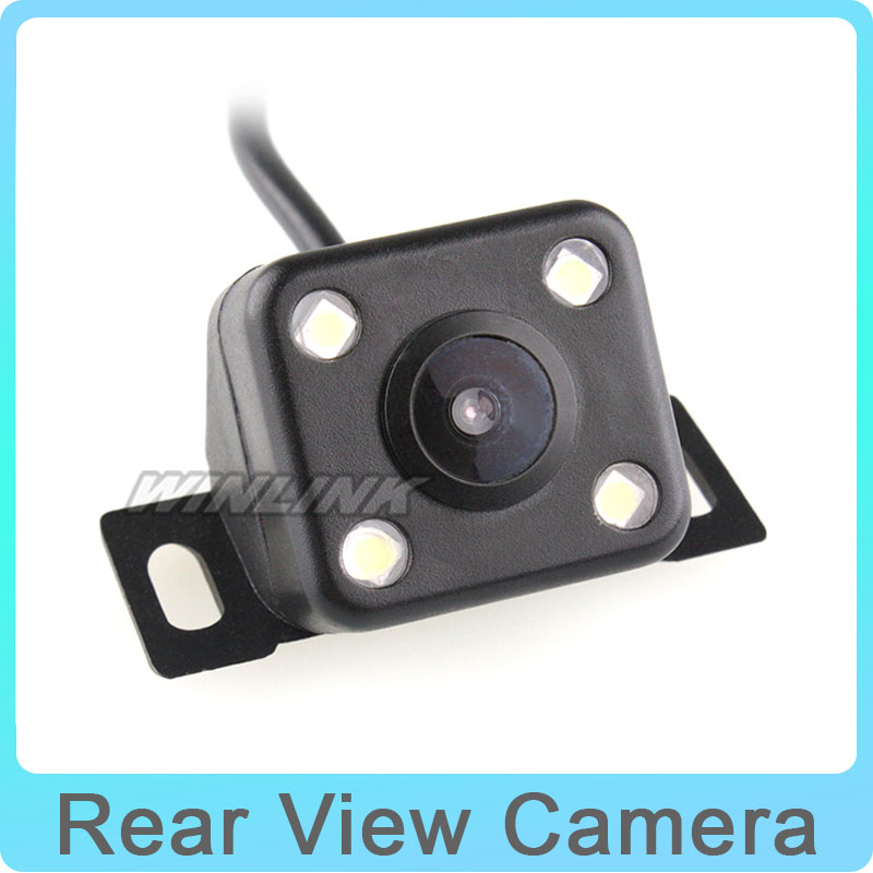 Wide Viewing Angles Rear View Reverse Backup Car Rear Camera Waterproof Parking system 4 Cool LED Light, Best Price auto camera image
