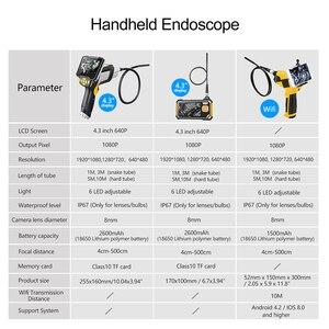 Image 2 - Antscope endoscópio industrial 1080 p hd câmera de inspeção para ferramentas de reparo automóvel cobra handheld duro 4.3 polegada lcd wifi borescope