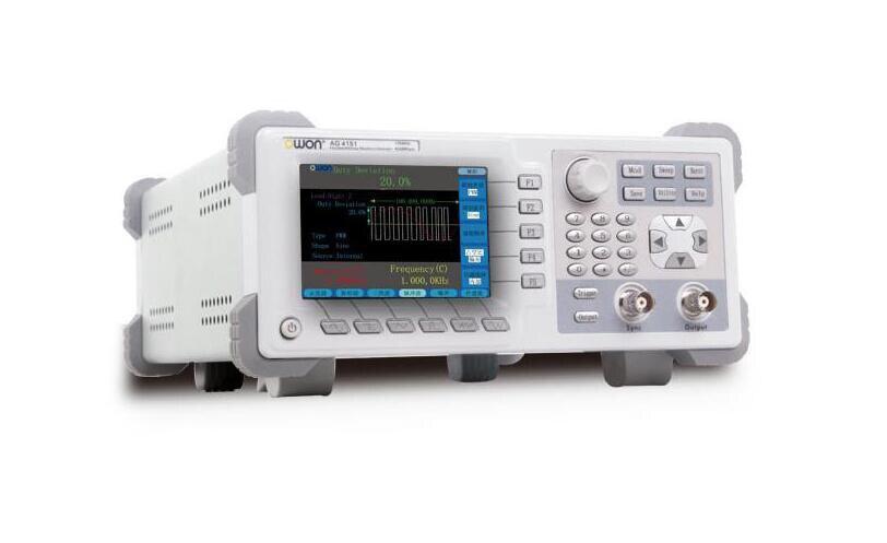 Nouveau générateur de forme d'onde arbitraire Owon AG4151 Single150MHZ 400MSa/S 14 bits DDS