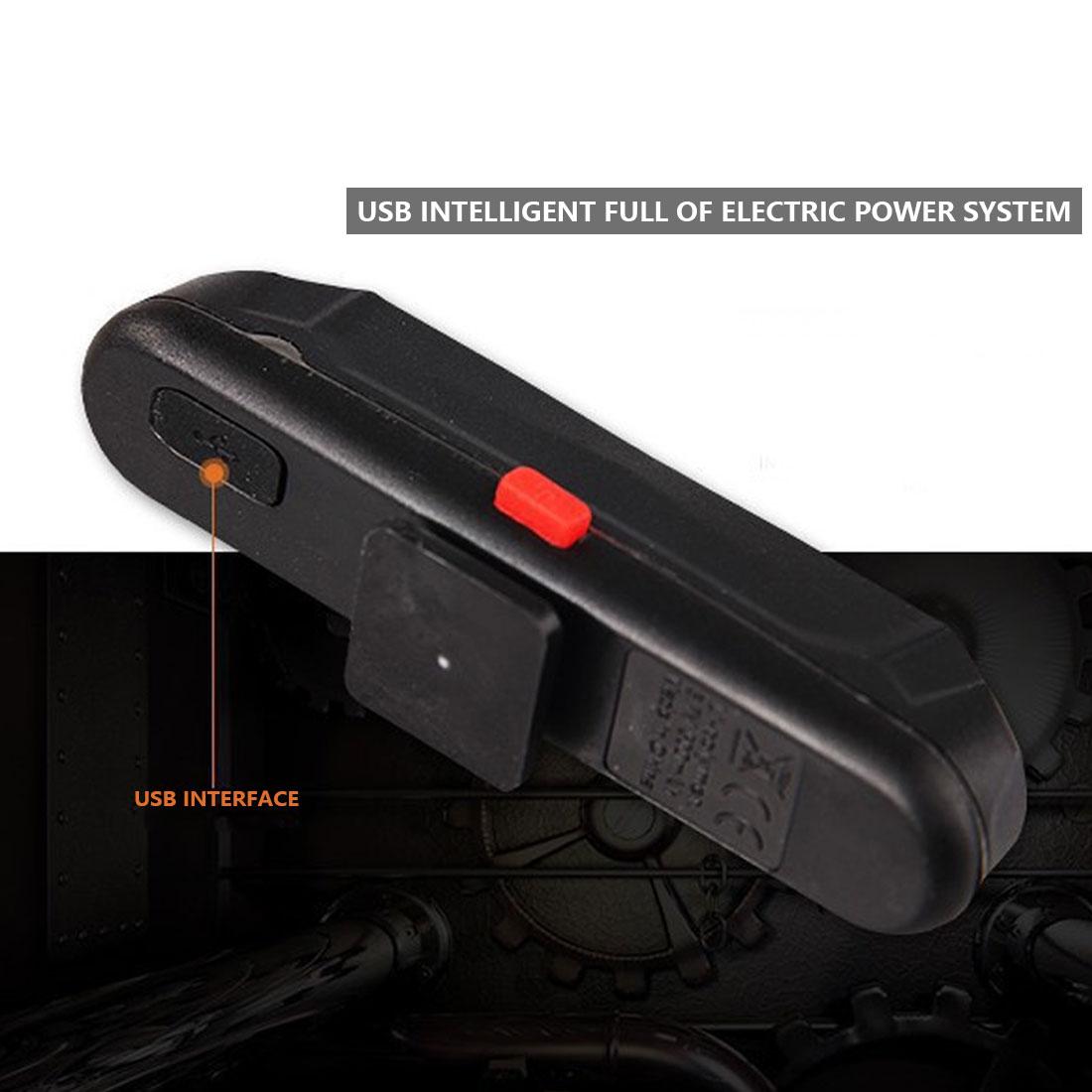 Хит продаж, 100 люменов, перезаряжаемый COB LED USB, задний фонарь для горного велосипеда, задний фонарь, предупреждающий, велосипедный задний фон...