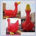 Hermosa 6 M/20ft Alta Mascota Pato Inflable para Eventos Envío Gratuito CE o UL Soplador certificado Incluido