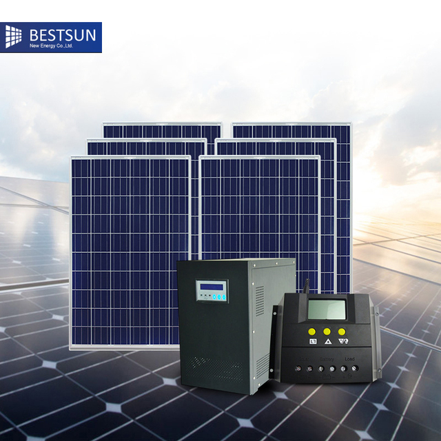 3000w solar energy power home system for home kit solar generator ...