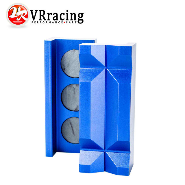 VR RACING - Aluminum Vise Jaw Protective Inserts for AN Fittings - With Magnetic Back VR-SLV0304-01