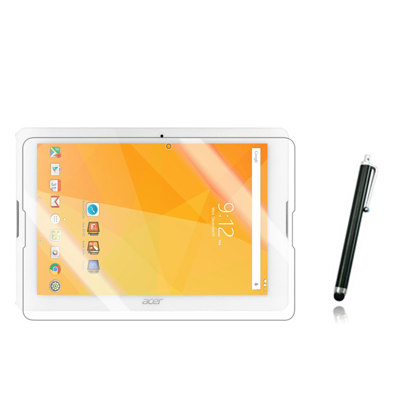 Anti Glare Matted Screen Protector Protective Matte Film Guards 1x Stylus For Acer Iconia One 10