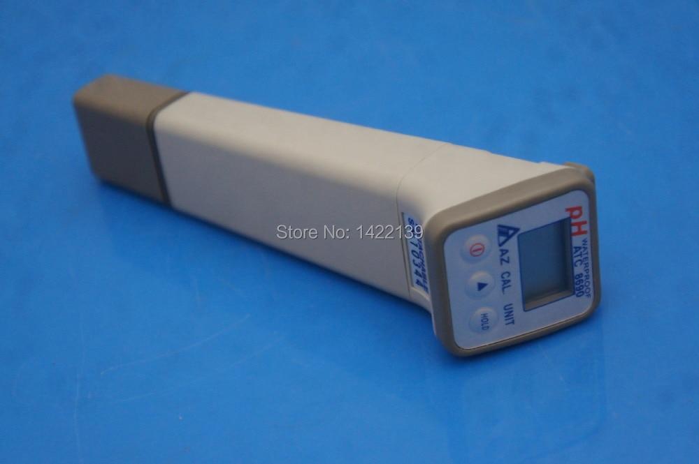 Water Quality Tester Ph/Temp.meter , AZ-8690 Detachable pH Pen ph tester accept sample order