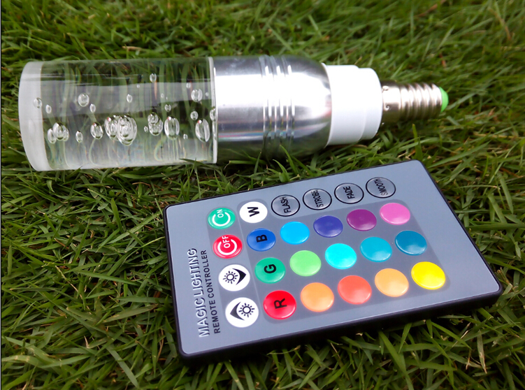 Bright Crystal RGB LED Bulb 16 Colors Changing Remote Control Lights 3W E27 E14 Lamp 85-265V Silver Golden Red Purple Spotlights моноблок lenovo ideacentre aio910 27ish page 8