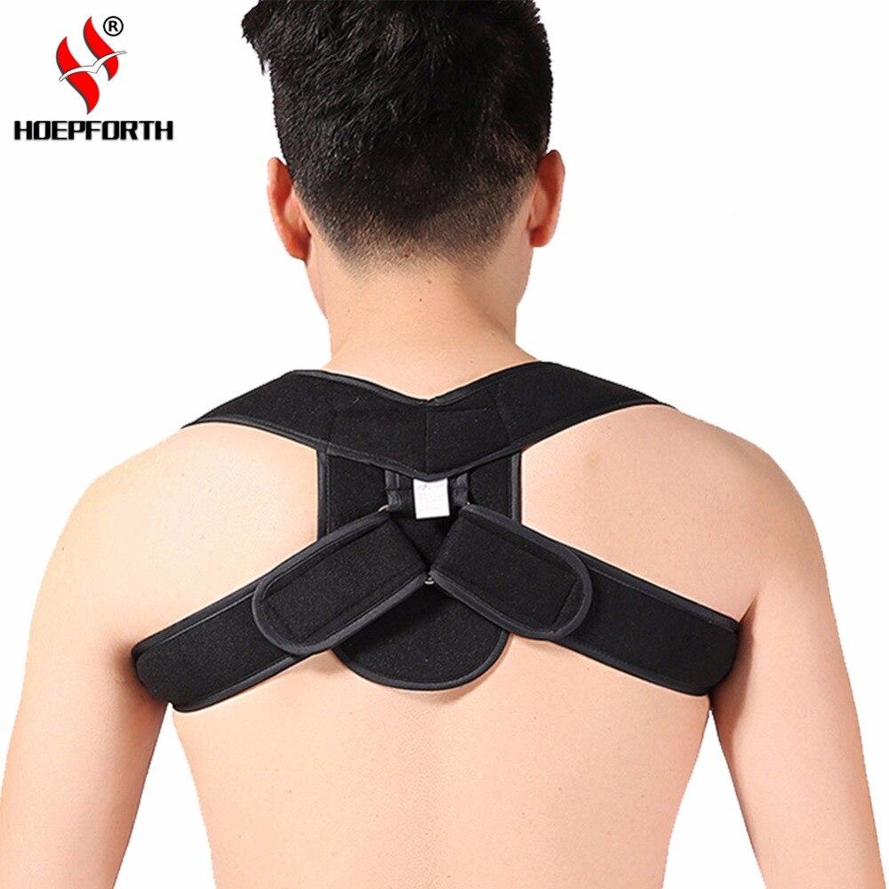 Adjustable Atas Kembali Dukungan Postur Korektor Bahu Anak Korset Tulang Belakang Punggung Hfbs025 4 5