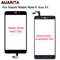 Touch Panel Digitizer Touch Screen Glass For Xiaomi Redmi Note4 Note4x Note 4 Redmi Note 4x