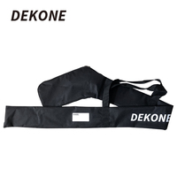 Hockey Goalie Stick Bag High Quality Black Waterproof For Hockey Stick Name tag Panel Hockey Equipment Bag