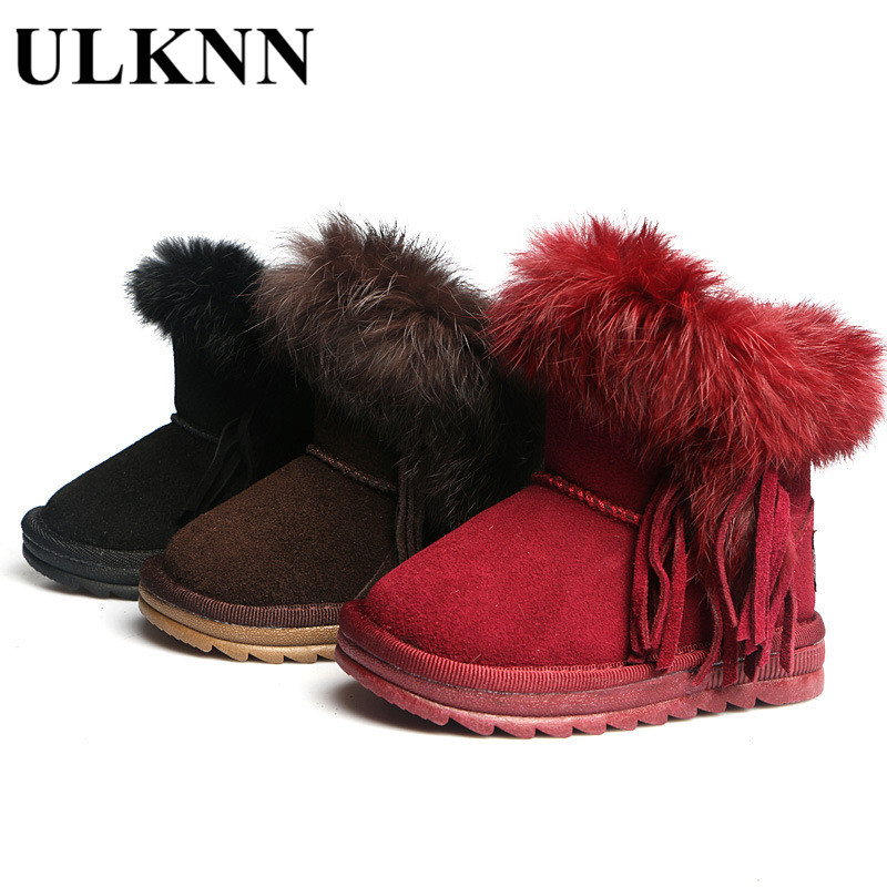 Detail Feedback Questions about ULKNN Toddler Snow Boots For Boys Winter  Shoes Fringe Casual Shoe Girls Princess Boots 2018 Kids Warm Boot Plush  Children ... d27dfb771fd6