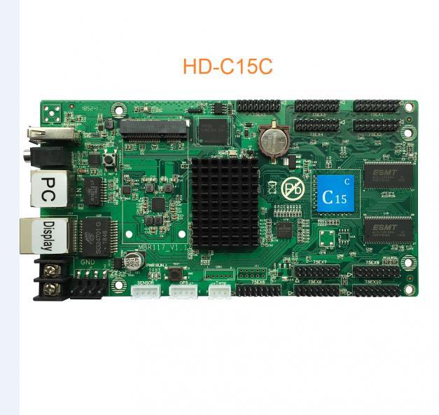 Huidu HD C15C contrôleur de écran vidéo LED couleur avec 10 Ports HUB75E remplacer HD C10C-in Écrans from Electronique    1