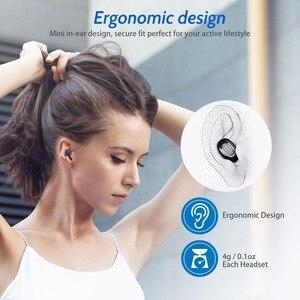 Image 3 - FONKEN Q13S Bluetooth אוזניות TWS HiFi סטריאו בס מוסיקה אוזניות עמיד למים ספורט אוזניות אלחוטי אפרכסת עבור Smartphone