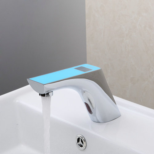 Sensor Torneira Touchless Commercial Automatic Bathroom Sink Sensor Faucet  Hands Free Bath Bathroom Faucet Deck Mounted  In Underwear From Mother U0026  Kids On ...