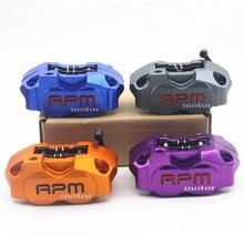 Sale RPM motor Motorcycle Brake Calipers Brake Pump Adapter Bracket For Yamaha Aerox Nitro JOG 50 rr BWS 100 Zuma RSZ