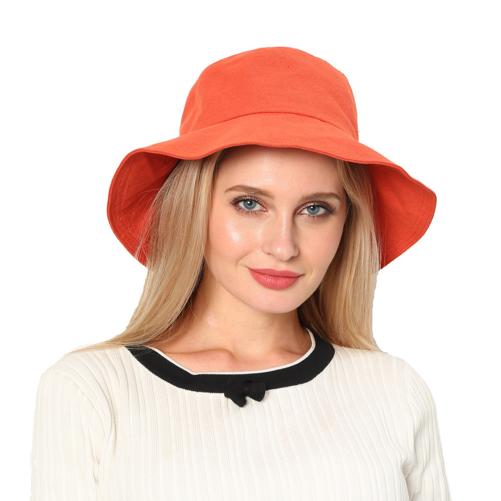 Women Spring And Summer Hat Foldable Wide Brim Floppy Cap Sun Fisherman Hat Dropshipping Decoration Accessories Discount