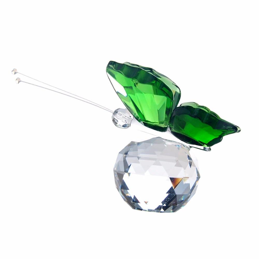 H & D geschenken voor Xmas Crystal Flying Butterfly beeldje - Huisdecoratie