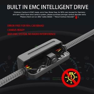 Image 4 - Zdatt H7 Led farlar H11 H4 12v LED ampul lampadas Canbus H8 H9 9005 HB3 9006 HB4 ZES fansız araba ışık 100W otomatik sis lambası