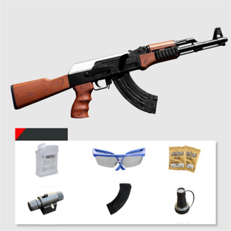 47 Live Cs Eléctrica Y Manual De Pistola Rifle Juguete Ak oCrxedB