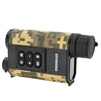High Quality Tactical 6x32 Day Night Rangefinder Laser Ranging Night Vision Digital Compass Scope IR NV Telescope Monocular