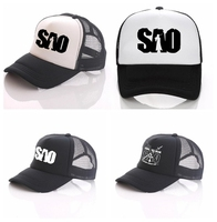 ผู้ใหญ่แฟชั่นหมวกS Napbackปรับหมวกกอล์ฟหมวกเบสบอลด้านบนอะนิเมะดาบศิลปะออนไลน์ของ