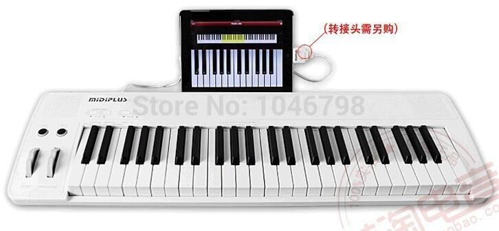 Midiplus Easy Piano 49Key USB/Battery IPAD Midi Keyboard For