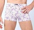 Размер L ~ XXXL sexy хлопок боксеры 58 серии 2 цвета мужчины боксер дышащий мужчины underwear
