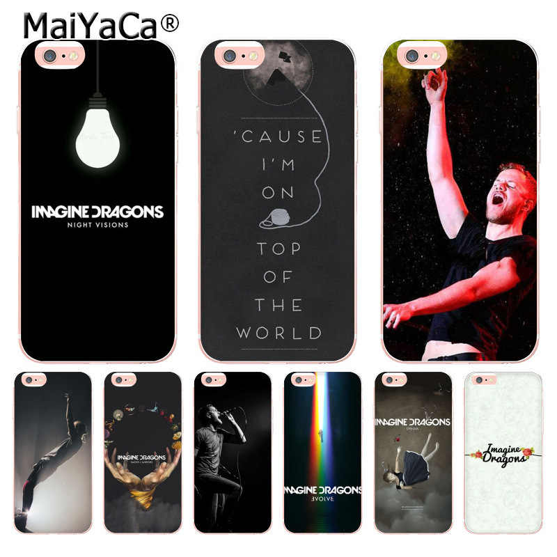 MaiYaCa Rock Band Imagine Dragons Art Special Offer phone case for iphone 11 Pro XR XS Max 8 7 6 6S Plus X 5 5S SE Mobile Cases