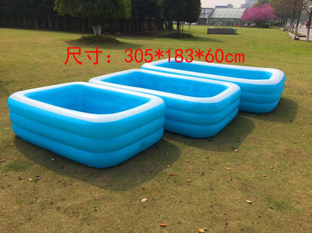 Compare prices on big plastic tubs online shopping buy for Large size inflatable swimming pool