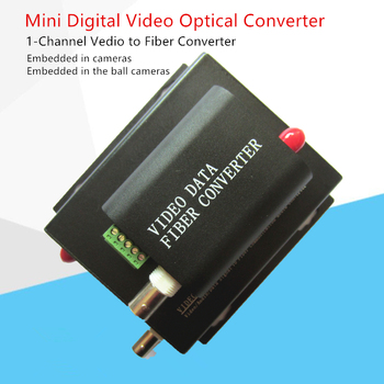 Mini Vedio to Fiber Converters 1ch video over fiber optic+1data transmitters and receivers Embedded into the explosion-proof box