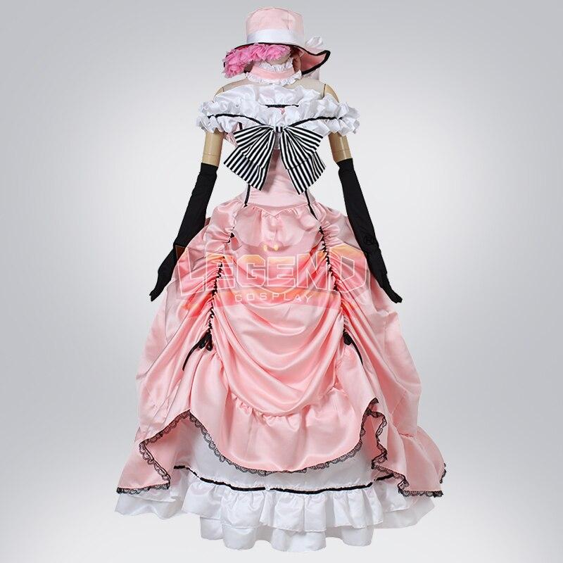 cosplay anime kuroshitsuji Black Butler Ciel Phantomhive Cosplay adult costume Custom Made full set fancy dress