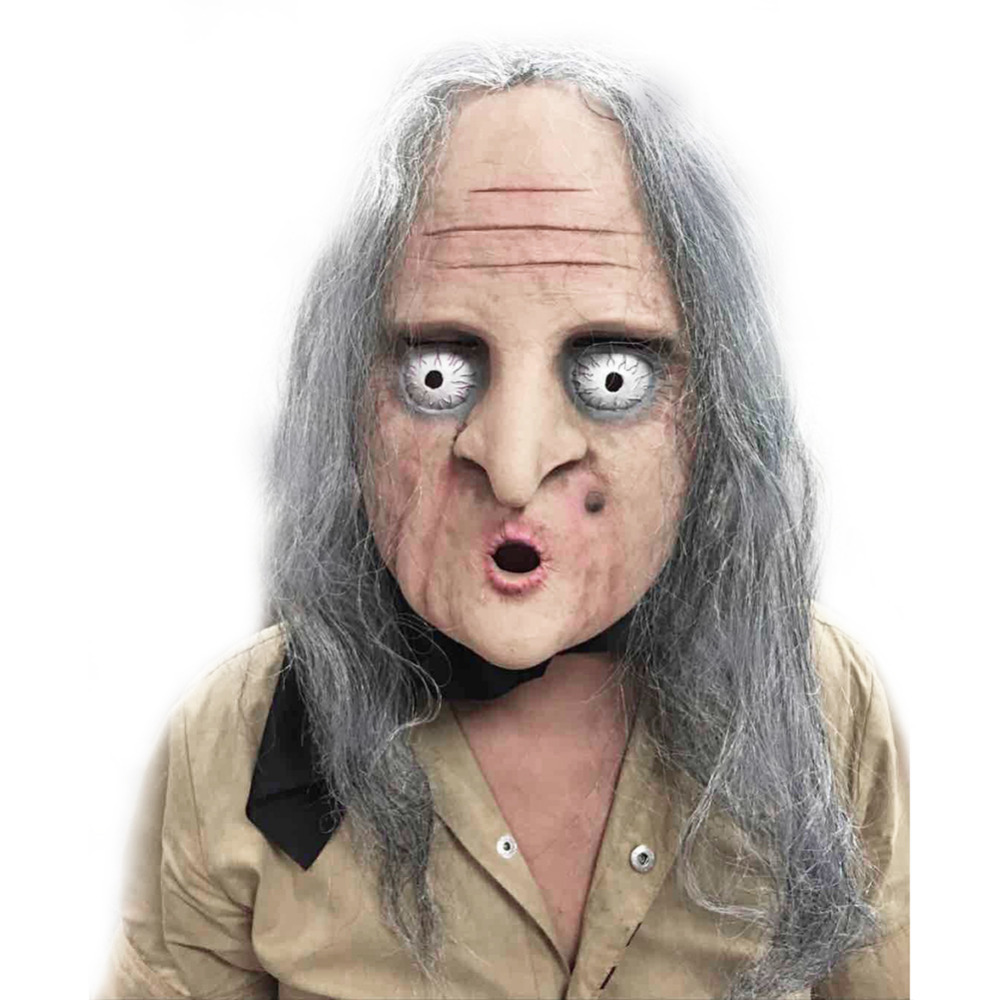 Online Buy Wholesale old woman halloween mask from China old woman ...
