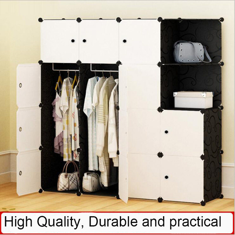 Simple Portable Wardrobe Assembly Plastic Wardrobe Bedroom Locker WardrobeSimple Portable Wardrobe Assembly Plastic Wardrobe Bedroom Locker Wardrobe