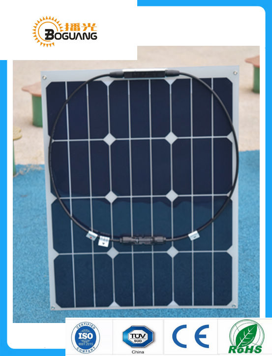 BOGUANG 40W flexible Solar Panel quality cell module with MC4 connector for 12V battery charger usb car LED light boat boguang 40w flexible solar panel mc4 connector high efficiency solar cell solar module for rv boat yacht motor home car