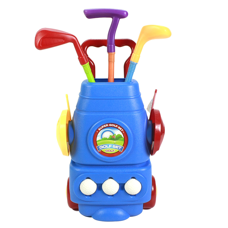 Outdoor Children Exercise font b Golf b font Clubs Sets Plastic Family Outdoor Paly Toy font